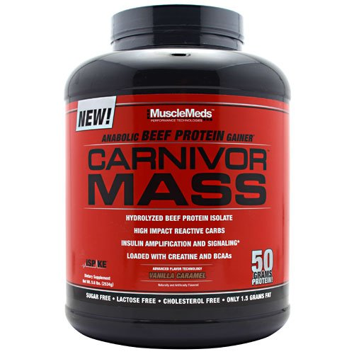 MuscleMeds Carnivor Mass - Vanilla Caramel
