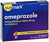 Omeprazole Tablet Sunmark 20Mg Generic Prilosec Otc - 1 BOX, 14 PER BOX