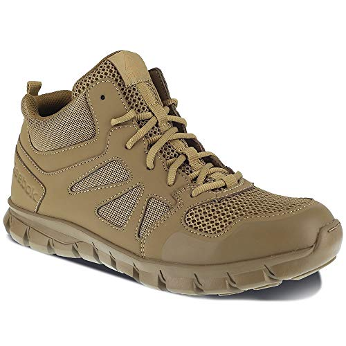 Reebok Men's Sublite Cushion Tactical RB8406 Military & Tactical Boot, Coyote, 10 M US (Best Paying Jobs After Military)