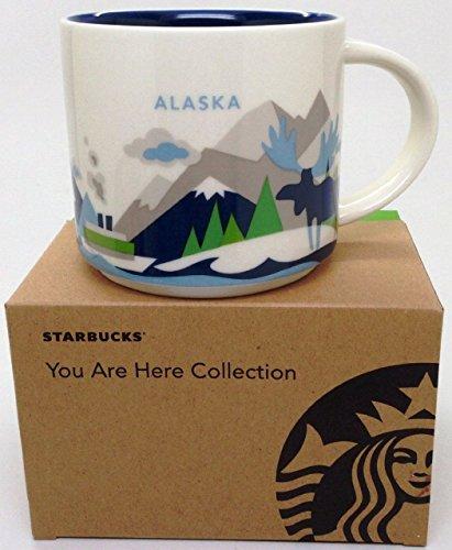 Alaska Starbucks You Are Here Collectors Mug 14 ()