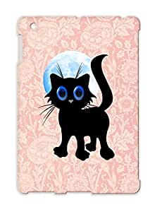 Black Halloween Kitten All Hallows Eve Ghosts Spooks Black Cats Holidays Occasions Bats Happy Halloween Boo TPU White For Ipad 3 Cover Case