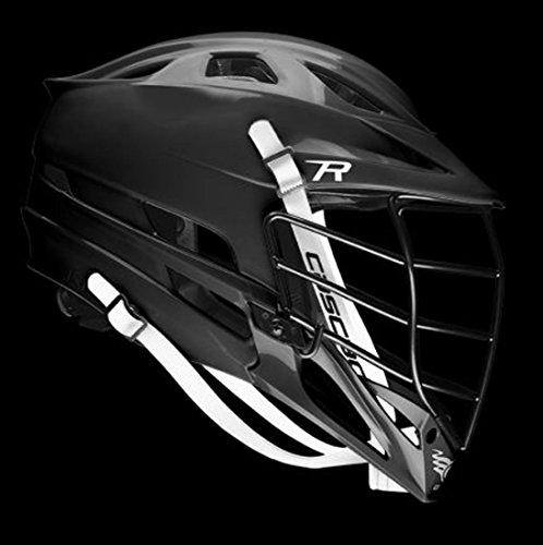 Cascade R Lacrosse Helmet w/ Black Mask - Black