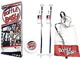Bottle Bash USA Game Set with Soft Surface Spike (Polish Horseshoes, Beersbee)
