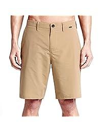 Hurley - Mens Dri-Fit Chino Walkshorts, 32, Khaki