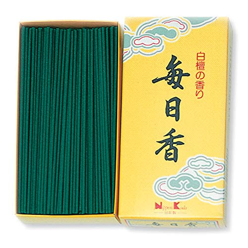 (nippon kodo Mainichi-Koh Sandalwood Incense 300pcs Incense Sticks by NIPPON KODO, Japanese Quality Incense)