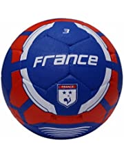Vector X France Rubber Football, Size 3, Red-Blue
