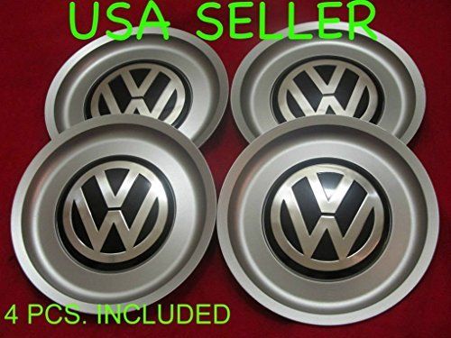 4pcs. REPLACEMENT VW Jetta Bora Golf Mk4 Wheel Center Hub Caps SET 1J0 601 149 B 6 1/2''