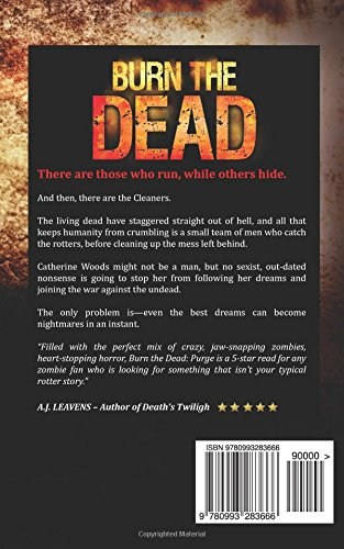 Burn The Dead: Purge (Book Two In The Zombie Saga) (Volume 2 ...