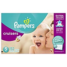 Pampers Cruisers Diapers, Size 5, 152 Count by Pampers