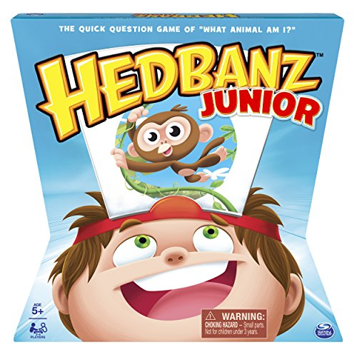 Hedbanz    Hedbanz Jr  Family Board Game For Kids Age 5 And Up