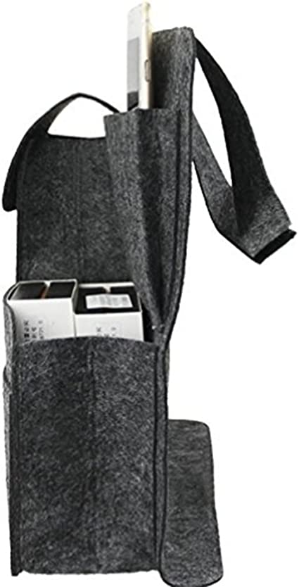 Haodou Organizador para Coche Trasero Protector para Asiento de Coche Asiento Auto Mat bolsa de almacenamiento Fundas para Sillas de Coche Gris Claro
