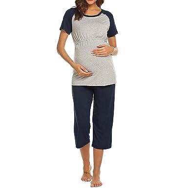 diseño innovador 7fbbf 5ffdf Vectry Camisetas Premama Verano Camiseta De Maternidad De ...