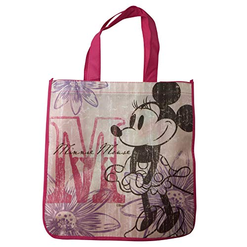 Disney's Classic Minnie Mouse's 90th Anniversary Large Reusable Tote -