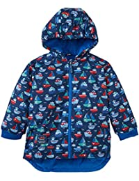 JoJo Maman Bebe Little Boys' Fleece Lined Jacket (Toddler/Kid) - Boat