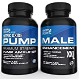 Testosterone & Nitric Oxide Combo. Our #1 Testosterone Booster (90ct) With our #1 Nitric oxide Supplement (90ct) just came together. The ultimate Muscle Builder combo