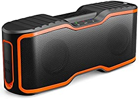 AOMAIS Sport II Portable Wireless Bluetooth Speakers 4.0 with Waterproof IPX7,20W Bass Sound,Stereo Pairing,Durable Design for iPhone /iPod/iPad/Phones/Tablet/Echo dot,Good Gift