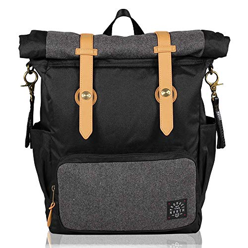 - Product of the North - Westin Unisex Baby Diaper Bag Backpack - Includes Stroller Straps and Removable Changing Pad for Men and Women