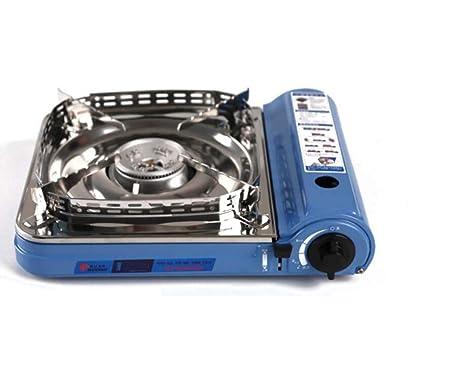 Estufa de Gas portátil Estufa Quemador Sistema de Encendido ...