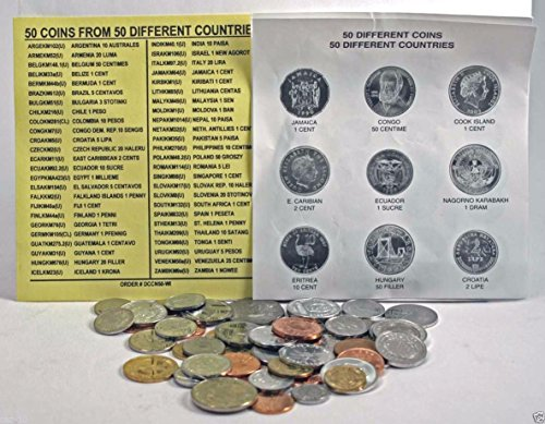 1993-50-different-coins-from-50-different-countries-uncirculated-set-with-list-uncirculated