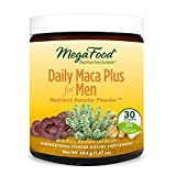 MegaFood – Daily Maca Plus for Men, Supports Immune and Prostate Health with Saw Palmetto and Reishi Mushroom, Vegan, Gluten-Free, Non-GMO, 30 Servings (1.57 oz) (FFP)