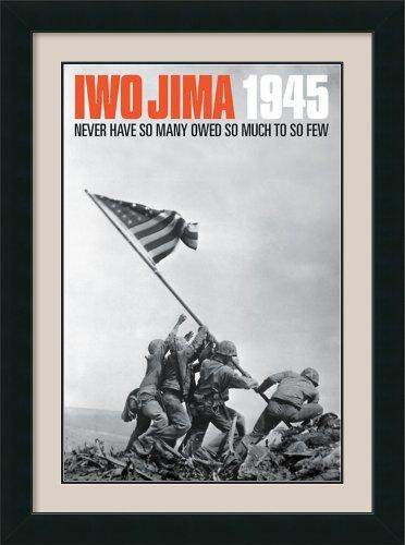 Iwo Jima, 1945 Framed