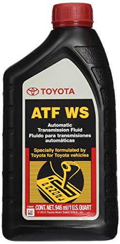 Genuine Toyota Lexus Automatic Transmission Fluid 1QT WS ATF World Standard (4 Pack)