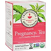 Traditional Medicinals - Organic Pregnancy Herbal Tea, Caffeine-Free - 16 Tea Bags