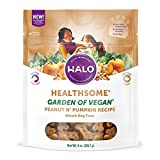 Halo Vegan Grain Free Natural Crunchy Dog Treats, Garden Of Vegan...
