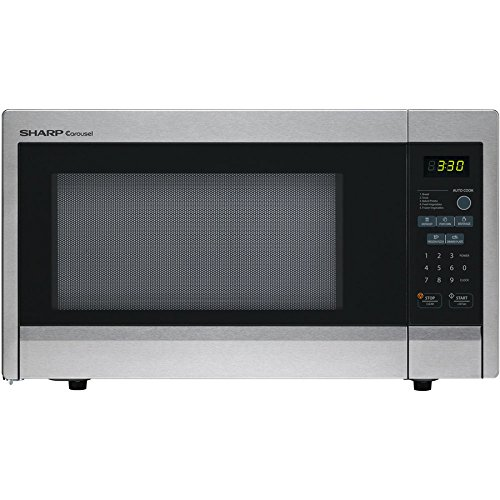 SHARP R331ZS Microwave Oven,SS,1000W by SHARP (Image #2)