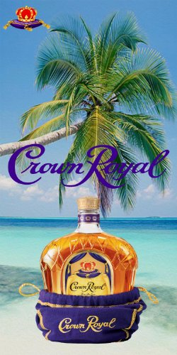 Crown-Royal-Wrap-Set-2-Decals-24x48-for-Cornhole-Baggo-Bag-Toss-Boards