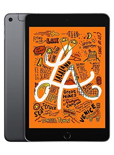 Apple iPad mini (Latest Model) with Wi-Fi + Cellular 64GB Space Gray MUXF2LL/A