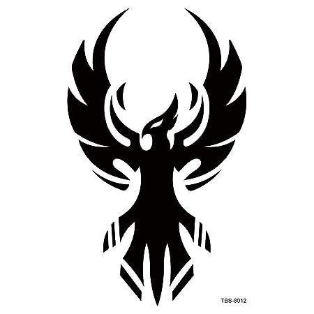 Handaxian 2pcs-Totem símbolo Impermeable Etiqueta engomada del ...