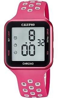 Calypso Unisex Adult Digital Quartz Watch with Plastic Strap K5748 2 577d735a1f6