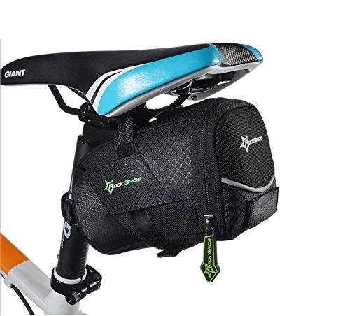 HYSENM Satteltasche Fahrradtasche Radtasche Hecktasche Schnellspanner Nylon wasserdicht Fahrrad Rennrad