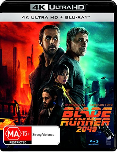 Blade Runner 2049 4K UHD Blu-ray / Blu-ray | Ryan Gosling, Harrison Ford | NON-USA Format | Region B Import - Australia