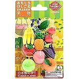 イワコー おもしろ消しゴム 果物 ER-BRI024 ブリスターパック21