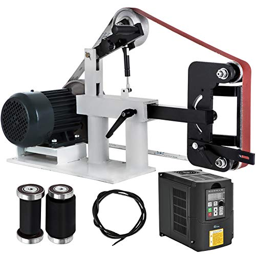 """Used, Happybuy 2Hp Belt Grinder Variable Speed 2 X 82"""" Belt for sale  Delivered anywhere in USA"""
