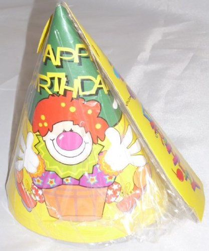 18 Happy Birthday Party Hats