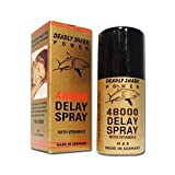 2 PACK X Deadly Shark 48000 Delay Spray for Men with Vitamin E