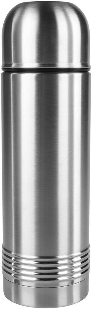 Amazon Com Emsa Senator 33 8 Oz Vacuum Flask From Stainless Steel Silver Kitchen Dining