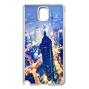 New Style City Lights Image Phone Case For Samsung Galaxy Note 3