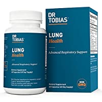 Dr Tobias Lung Health – Lung Cleanse & Detox for Respiratory Support (60 Count)