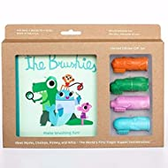 605d0b8e67a The Brushies - baby and toddler toothbrush and storybook gift set!