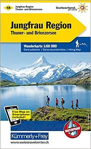 Jungfrau Region 2017 KFWK18 9783259022184 Amazoncom Books