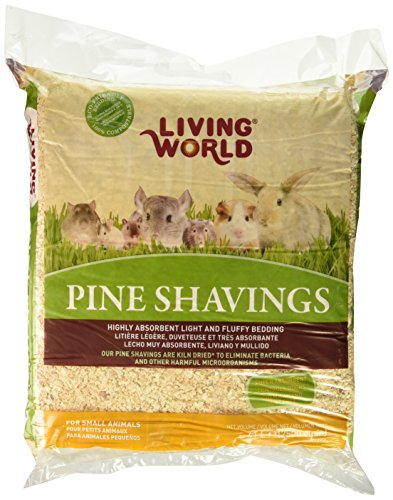 Living World Pine Shavings, 2500-Cubic (Living Natural Pine Bedding)