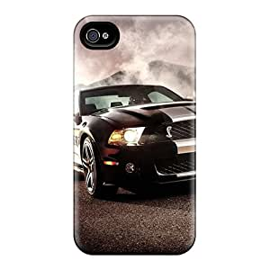 Iphone 4/4s Ford Shelby Ford Mustang Shelby Gt Print High Quality Tpu Gel Frame Case Cover