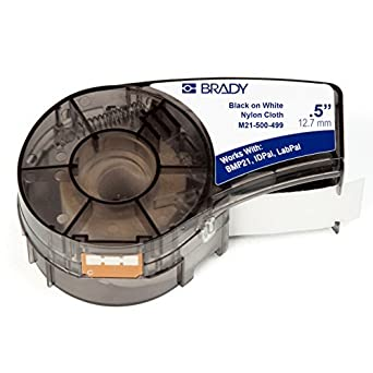 Amazon Com Brady High Adhesion Cloth Label Tape M21 500
