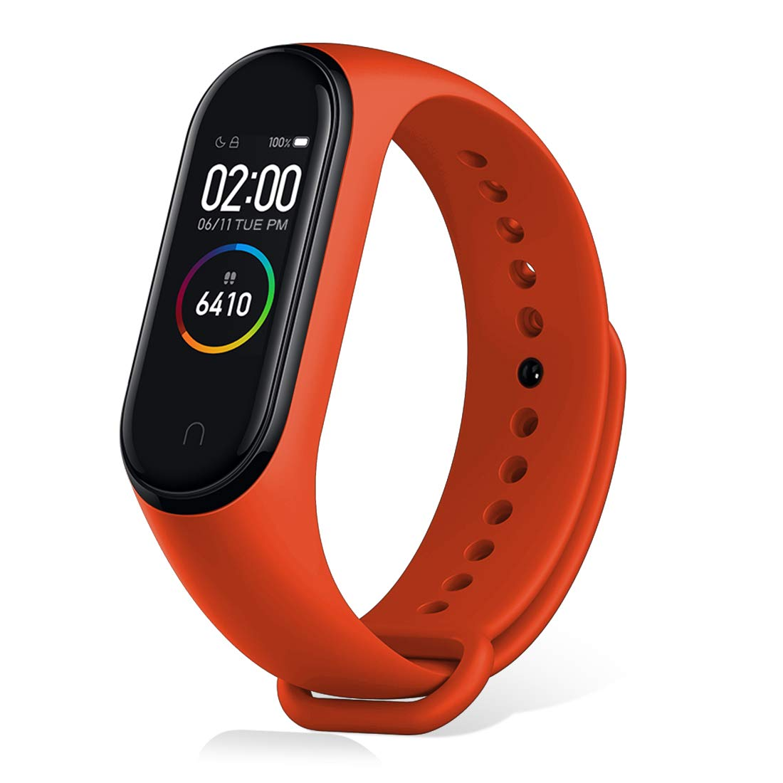 Xiaomi Mi Band 4 Activity Bracelet, Activity Monitors, Heart Rate Monitor Fitness Tracker, Smartwatch with 0.95 Inch AMOLED Colour Screen, with iOS and Android, Black (Global Version)