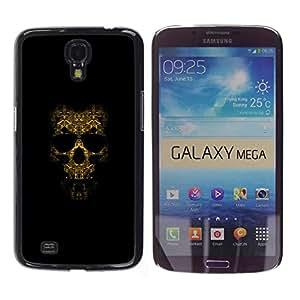 EJOY---Cubierta de la caja de protección la piel dura para el ** Samsung Galaxy Mega 6.3 ** --Modelo del cráneo