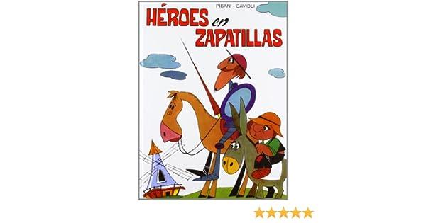 Héroes en zapatillas: Angelo ; Gavioli, Gino, (il.) ; Tomaz, Lucio, (ed.lit.) ; Olivar Cubiella, José Antonio, (adapt.) Pisani: 9788428541985: Amazon.com: ...
